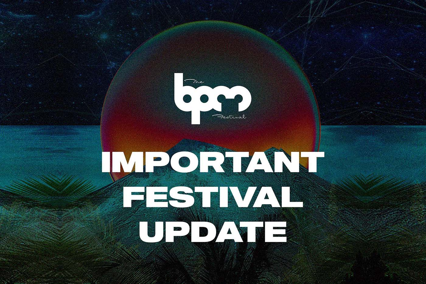 An important announcement on The BPM Festival Costa Rica.